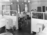Ward One at the Montague Hospital in Mexborough  South Yorkshire  1959