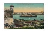 Ss Havana and City from Morro Castle  Havana  Cuba  C1910