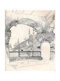 Colonnade Near the Pont Des Invalides  C1900