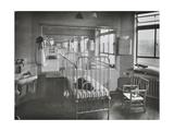 Childrens Isolation Wards  Brook General Hospital  London  1948