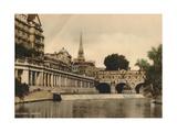 Pulteney Bridge  Bath  Somerset  C1925