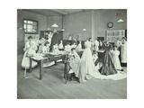 Dressmaking Class  Borough Polytechnic  Southwark  London  1907