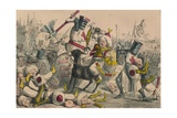 Terrific Combat Between Richard Coeur De Lion and Saladin  1850