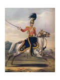 Officer of the 17th Lancers  C1833 (1914)