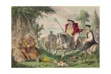 Henry Viii Monk Hunting  1850