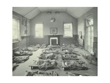 Young Children Asleep at Mitcham Residential School  London  1931