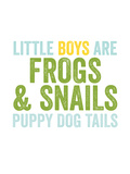 Little Boys Are Blue Green
