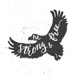 Eagle Lettering Composition