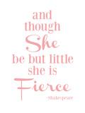 She Is Fierce V2 Pink