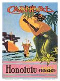 1916 Mid-Pacific Carnival - Honolulu  Hawai'i