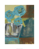 Blue Bud Vase I
