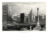 Antique View of Rome