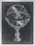 Armillary Sphere on Charcoal II