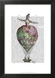 Hot Air Balloon Woman 2