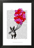 Boston Terrier And Balloons