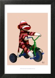 Sock Monkey Tricycle