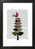 Tartan Tree Illustration