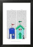 Beach Huts 2 Illustration