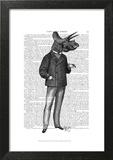 Triceratops Man 1 Dinosaur