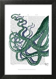 Octopus Tentacles Green and Blue