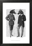 Two Zebra Gentlemen