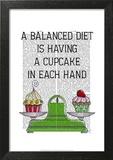 A Balanced Diet Illustration