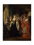 Divorce of Henry Viii and Catherine of Aragon before Cardinal of Wolsey Ca 1530