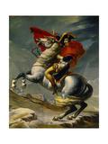 Napoleon Bonaparte Crossing the Grand Saint-Bernard Pass  May 20 1800