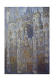 Rouen Cathedral  Blue Harmony  Morning Sunlight  1893