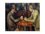 The Cardplayers  1890-95
