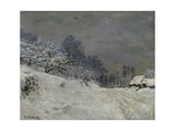 Near Honfleur-Snow  1867