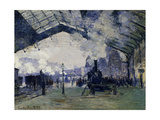 Arrival of the Normandy Train  Gare Saint-Lazare  1877