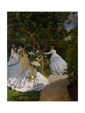 Women in the Garden at Ville D'Avray  1867