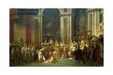 Coronation of Empress Josephine on Dec 2  1804