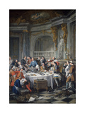 The Oyster Lunch 1735