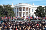 1 000 People at a Six-Month Remembrance of the 9-11 Terrorist Attacks at the White House