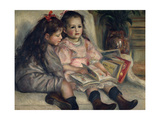 Girls Reading  Ca 1880