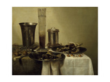 A Dessert  Previously Called Still Life with Silver Tumbler 1637
