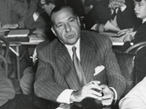 Frank Costello Testifying before a Senate Interstate and Foreign Commerce Subcommittee