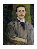 Jacques Emile Blanche  French Painter  Ca 1900 Portrait by American John Singer Sargent