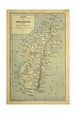 Madagascar War 1885-95  Map of Madagascar