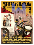 February Fiestas in Havana - January 30 to February 28  1937 - Dance  Music  Historical Pageants