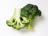 Two Half Broccoli Florets