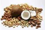 Piles of Nuts Papier Photo par Eising Studio - Food Photo And Video