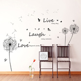 Live Laugh Love Dandelions