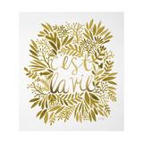 C'est La Vie in Gold