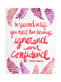 Ignorance and Confidence - Pink – Cat Coqullette