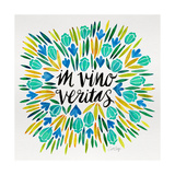 In Vino Veritas - Yellow and Blue Palette