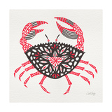 Crab in Pink and Grey