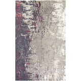 Felicity Area Rug - Gray/Hot Pink 5' x 7'6""
